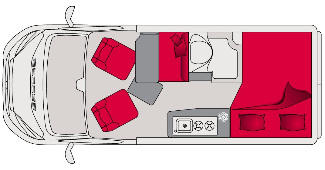 Pilote Vans Vega V540G Standard