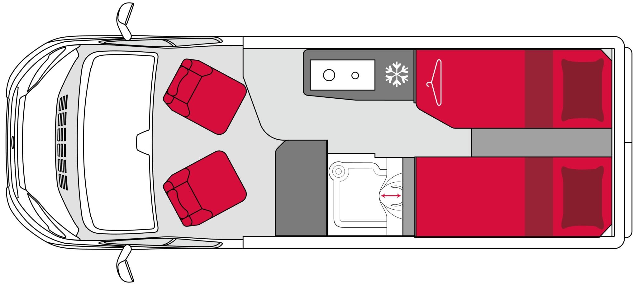 Pilote Vans Vega V600J Standard