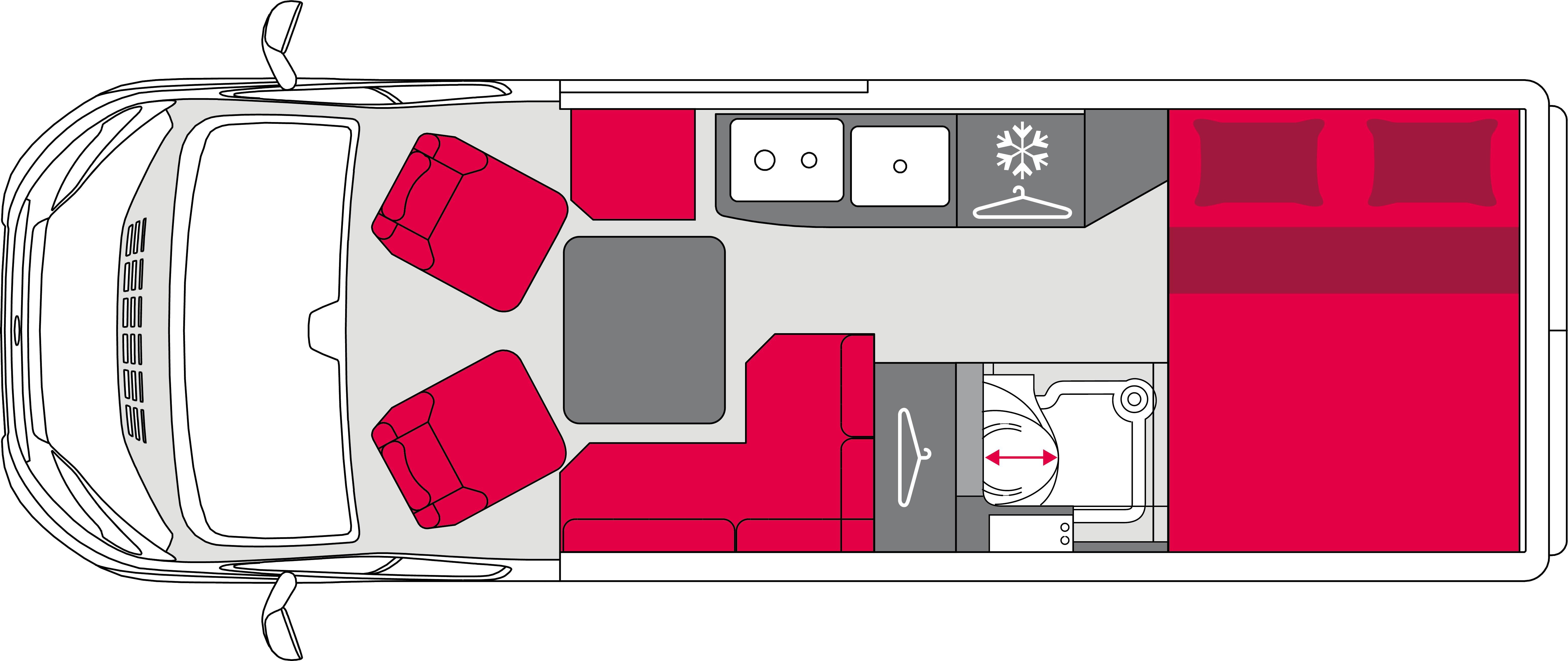 Pilote Vans Vega V630G Standard